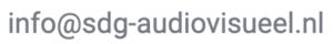 e-mail SDG Audiovisueel